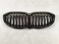 Single Line Car Front Bumper Kidney Grill Grille For BMW 1 Series F40 ABS Material Black Racing Grilles