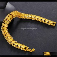 Bangle Bracelets Drop Delivery 2021 The Luxury Designers Fashion Bracelet Sand Gold Jewelry Gold-Plated Hand Decoration Nxsd7