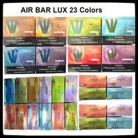 Barre d'air lux jetable e-cigarettes 2.7ml kit de stylo de vape 500mah batterie 1000 puces vapeurs pré-remplies E CIGS