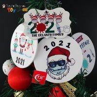 2021 Grinch Quarantäne Favor Weihnachten Ornament Weihnachten Hängende Ornamente Personifizieren Sie für Baumdekor