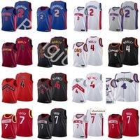 2021 проект выбора баскетбола майки 2 Cade Cunningham 4 Evan Mobley 7 Jalen Green Scottie Barnes Blue White Grey красный черный цвет высочайшее качество быстрое