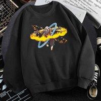 Men's Hoodies & Sweatshirts Man Avatar The Last Airbender Hoody Aang Katara Sweatshirt Brand 2021 Clothes Male Harajuku Pullover Breathable