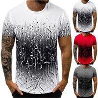 T-shirt 3D Digitaldruck T-thees Polos Männer Kleidung Rundhals-Kurzarm Passende Leggings und -kleider