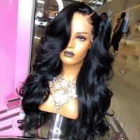 U Part Lace Part Wig Body Wave Lace Front Human Hair Wigs Glueless 360 Lace Frontal Wig Bleached Knots High Density 180%
