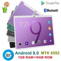 2021 OCTA CORE 10 дюймов MTK6592 Dual SIM 3G планшетный ПК телефон IPS емкостный сенсорный экран Android 8,0 4 ГБ 64 ГБ 6 цвет