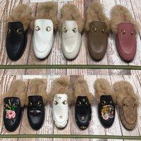 [2021 Kadın Sandalet Terlik Nakış Sandal Çiçek Brocade Moda Tasarımcılar Slaytlar Çizgili Plaj Hakiki Flip Flop Deri Dazzle Çiçekler Terlik Kutusu Ile