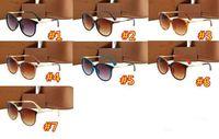 Occhiali da sole da sole del design del grande telaio da donna di lusso per protezioni UV Stile estivo occhiali visiera all'aperto di alta qualità