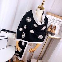 Designer Winter Casual Frauen Schal Plaid Kaschmirschals Warme Baumwolle Damen Luxus Schal Wraps Frau Scarty Echarpe de luxe Größe 180 * 70 cm