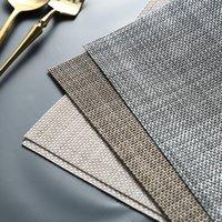 Matten Pads PVC Mahlzeit Matte Nordic Style Rechteck Rutschfeste Geschirr Pad einfacher 1 PC Mode Wärmedämmung