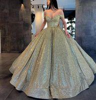 Sparkling Burgundy Quinceanera Dresses Sweet 16 Prom Dress Bling Sequins Ball Gown Open Back Vestidos De Quinceaera Vestidos De 15