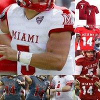 Personalizado Miami (OH) Redhawks College Football Jerseys Ben Roethlisberger Brett Gabbert Jaylon Besster Tire Shelton Jack Sorenson Ivan Pace Jr. Maye