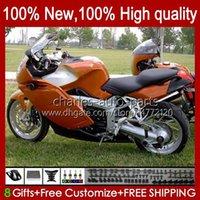 Carénage + couverture de réservoir pour BMW K1200 K 1200 S 1200S K1200S 05 06 07 08 09 10 Body Orange Dark Orange 28No.35 K-1200S 2005 2006 2006 2009 2009 2010 K1200-S 05-10 Body de moto