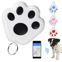Dog Smart GPS Tracker Anti-lost Pet Alarm Tag Wireless Bluetooth Wallet Bag Key Finder Locator Anti Lost Apparel