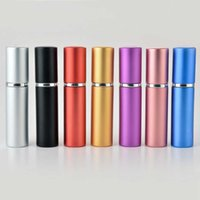 Modern Party Pair Gift 5 Ml Perfume Bottle Atomizer Portable Travel Can Be Packaged Cosmetic Spray Accessories Wholesale