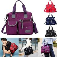 Duffel Bags 2021 Ladies Fashion Shoulder For Women Designer Waterproof Nylon Handbag Zipper Purses Messenger Crossbody Bag Sac A Main