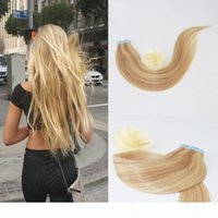 Remy Hair Extensions Human Hair U Tip Keratin Bonds Piano Color #16 with #22 Nail Tip Extensions 2.5g Per Stands