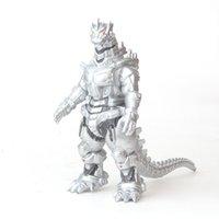 Movie 17cm Godzilla Mecha Mecha Gojira Figuras de acción Monstruos Dinosaurios Mecánico Godzillas PVC Modelo de colección Juguete