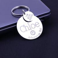 개 태그, ID 카드 개인화 된 태그 레이저 조각 나는 마이크로 화 된 이름 스테인레스 스틸 애완 동물 이드 크리스마스 선물