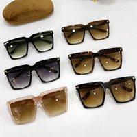 Fashion Tom Sunglasses FT0746 Women Erikaj Classic Wild Glasses UV Ford Designer Mens Brand Sunglassess Original Box