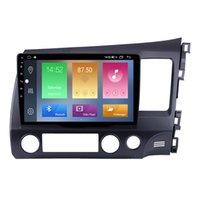 Android 자동차 DVD GPS 무선 플레이어 용 Honda Civic (RHD) 2006-2011 USB 와이파이 미러 링크 지원 Rearview 카메라 10.1 인치
