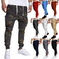 Men's Pants Fashion Streetwear Sweatpants Men Cargo Casual Hip Hop Multi Pockets Outdoor Sport Joggers Trousers Pantalones Hombre