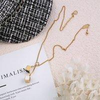 2021 дизайнер ювелирные изделия роскошные продажи подвеска мода ожерелье мужские и женские ожерелья подвески высококачественные подарок оптом