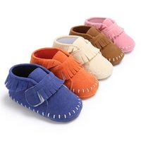 First Walkers Fashion Girls Born Sneakers Boy Baby Moccasins Soft Sole Kids Shoes Leather Toddler Booties Walker Tassel Boots