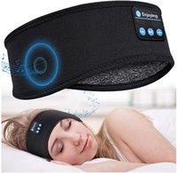 سماعات النوم Bluetooth 5.0 Sleeping Headset Headband 10h موسيقى - لينة مرنة مريحة عقال سماعات الرأس، أفضل الهدايا