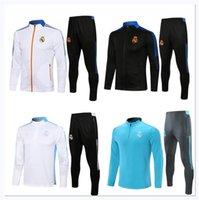 Homens 2021 2022 Real Madrid Futebol Treinamento Terno Jacket Caixas de Jaqueta 21/22 Camiseta de Futbol Perigo Benzema Modric Kids Jogging Futebol Tracksuit Conjuntos