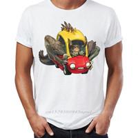Herren T-Shirt Deathclaw Fallout Awesome Gaming Kunstwerk Gamer's Herren Tshirt Hip Hop Streetwear Ankunft Männliche Kleidung 210420