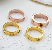En Kaliteli Titanyum Çelik Aşk Yüzük Gümüş Gül Altın Düğün Takı Bayanlar Nişan Yüzüğü Kutusu Olmadan