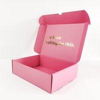 사용자 정의 인쇄 개인 전자 상거래 골판지 종이 상자 메일러 포장 상자 로고