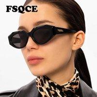 Sunglasses FSQCE Sexy Cat Eye Women Brand Designer Black Square Sun Glasses Female Retro For Ladies Eyewear UV400