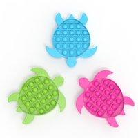 Push Bubble Sensory Fidget Toy Box Squishy Figet Striever Reliever Toys Adulto Niño Divertido Anti Reliver Poppit