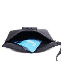Aufgerüstete wasserdichte Geruchsgeschichte Stash-Tasche mit starken Kombination Schützen Sie Ihre Kräuter Mühlen Medizin B5O2