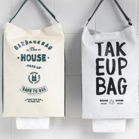 Storage Bags 80% S!!! Bag Large Opening Waterproof Hanging Oxford Cloth Shopping Packet Home Supplies