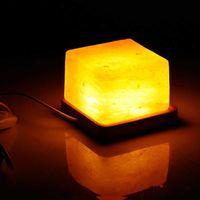 Natural Himalaia Purificador de Ar Lâmpada de Sal Lâmpada De Sal Luz Para Bedroom Beedside USB Recarregável Purificador De Ar LED Lâmpada Noite H0922