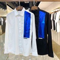 DSQ Phantom Turtle Chemises Hommes Designer Chemises Marque Vêtements Hommes Hommes Robe à manches longues Chemise Hip Hop Style de haute qualité coton 841761