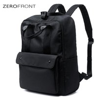 Backpack Men's Fashion Korean Oxford Cloth Schoolbag Leisure Youth College Students Simple Travel