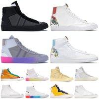 أحذية Nike Blazer Mid 77 Vintage Off White Sacai احذية رجالية Have A Good Game Catechu Indigo Thermal Grey Pine Green احذية رياضية رياضية