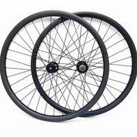 عجلات الدراجة MTB 29er الكربون 29 tobless weels 110x15 148x12 عجلة 27.4 ملليمتر عدم التماثل 1400G UD ماتي