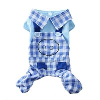 Dog Apparel Cute Jumpsuit Summer Clothes Puppy Clothing Chihuahua Yorkie Yorkshire Pomeranian Poodle Small Costume Overalls