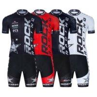 ROCK RACING Cycling Team Jersey 20D Bike Shorts Set Ropa Ciclismo MenS MTB Uniform Summer Bicycling Maillot Bottom Clothing