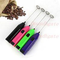 Recarregável Leite Frofher USB Handheld Espuma Elétrica Pão Misturador Misturador Mini Ovos Batedor Whisk H-0145 767