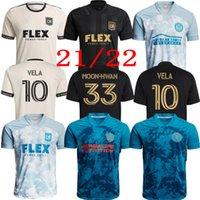 MLS 2021 Parley PrimeBlue Kit Inter Miami CF Soccer Jersey 2022 Лос-Анджелес La Galaxy 22 Higuain Beckham Atlanta United Lafc Pre футбольные рубашки Версия для фанатов