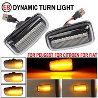 2 adet LED Dinamik Yan İşaretleyici Dönüş Sinyali Işık Sıralı Blinker EMARK 306 (Break / Cabrio / Hatchback) Acil Durum Işıkları