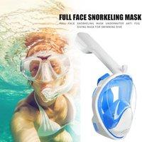 Vista subacquea ampia Snorkel Swimming Cover Occhiali da immersione Occhiali da immersione Scuba Bambini Anti Anti Fog Masks