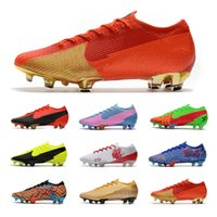 2021 mercurial 13 النخبة fg soccer المرابط الأحذية مصمم منخفض الكاحل نيمار كأس العالم كأس acc كريستيانو رونالدو لكرة القدم أحذية scarpe دا كلاسيو