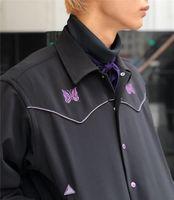 Jaqueta preta homens mulheres 1 alta qualidade vintage casacos bordados clássicos dentro etiqueta de tag