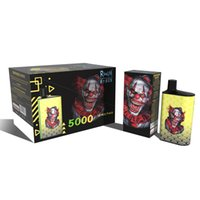 Fumot Original RandM B Box 5000 puff Disposable E cigarette Mesh coil rechargeable vape Adjustable air